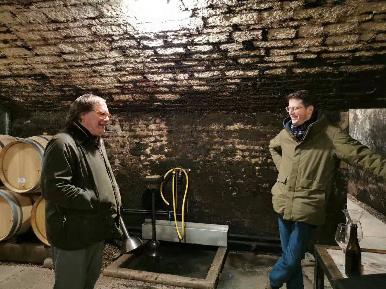 Ian-and-Jeremy-Seysses-in-the-cellar