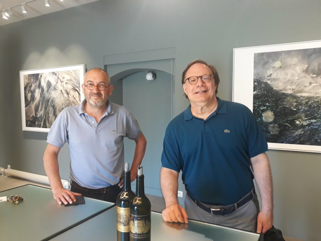 Ian-tasting-with-director-Thomas-Duroux-at-Chateau-Palmer-min-1024x768-1